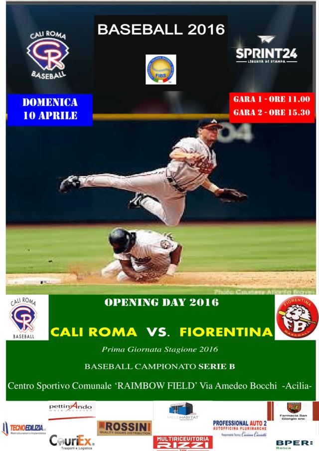 LOCANDINA Baseball 2016-1